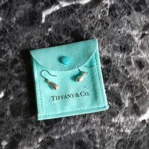 Tiffany & Co. Elsa Peretti Tear Drop Silv. Earring